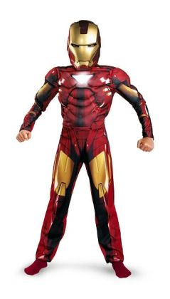 Iron Man 2 (2010) Movie - Mark VI Classic Muscle Child Costume: Size Large (10-12)
