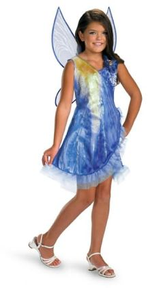 Disney Fairies Tink and the Fairy Rescue - Silvermist Classic Child Costume: Size Medium (7-8)
