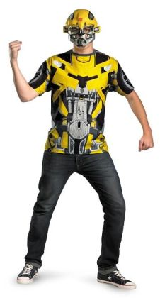 Transformers 3 - Bumblebee Mask And T-Shirt Costume Set: Teen/Standard (38-46)