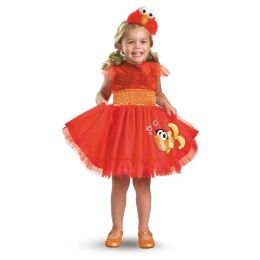 Sesame Street - Frilly Elmo Toddler / Child Costume: Toddler (2T)