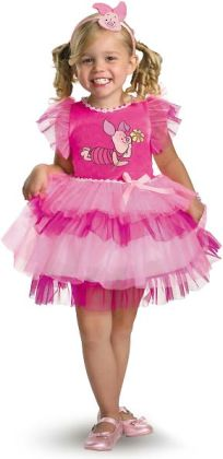 Winnie the Pooh - Frilly Piglet Toddler / Child Costume: Toddler (2T)