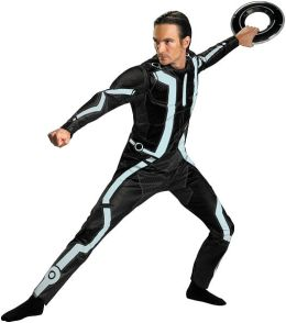 Tron Legacy -  Deluxe Adult Male Costume: One-Size (Standard)