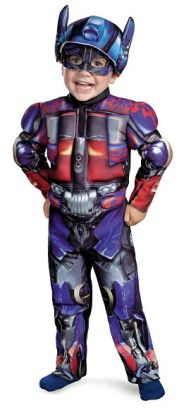 Transformers 3 Dark of the Moon Movie - Optimus Prime Muscle Toddler / Child Costume: Toddler (3T-4T)