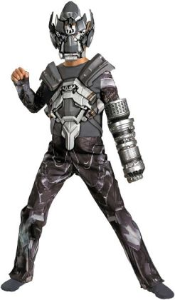 Transformers 3 Dark of the Moon Movie - Ironhide Deluxe Child Costume: Large (10-12)