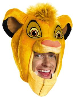 The Lion King - Simba Headpiece (Adult): One-Size
