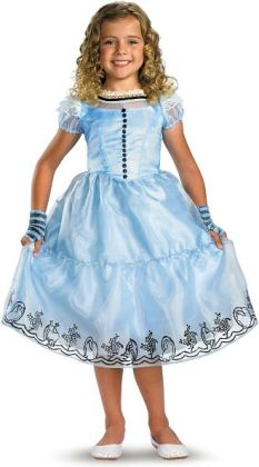 Alice in Wonderland Movie - Alice Child Costume: Large (10/12)