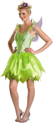 Tinker Bell Rainbow Deluxe Adult Costume: Medium (8-10)