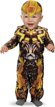 Transformers 3 Dark of the Moon Movie - Bumblebee Infant Costume: Infant (12-18 Months)