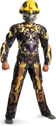 Transformers 3 Dark of the Moon Movie - Bumblebee Classic Muscle Child Costume: Medium (7-8)