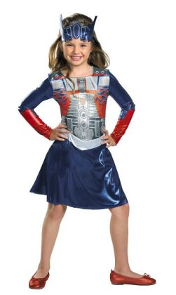 Transformers 3 Dark of the Moon Movie - Optimus Girl Toddler / Child Costume: Small (4-6x)