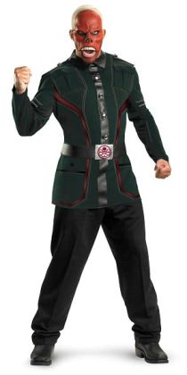 Captain America Movie - Red Skull Deluxe Adult Costume: X-Large (42-46)