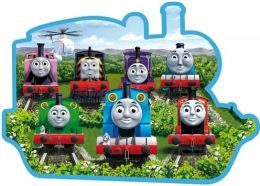 Thomas & Friends 24 Piece Shaped Floor Puzzle, Sodor Friends