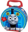 Product Image. Title: Thomas & Friends 35 Piece Puzzle in a Round Tin, Carnival at Night
