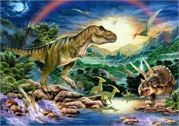 Dinosaur Times - 60 piece puzzle
