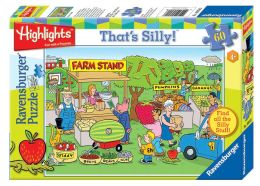 Highlights Farm Stand 60 pc That's Silly! Puzzle