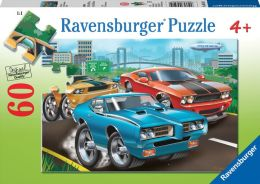 Muscle Cars 60 Piece Puzzle