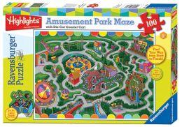Highlights Amusement Park 100 Piece Maze Puzzle