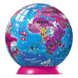 Fairy Friends Glitter Globe - 96 piece puzzleball