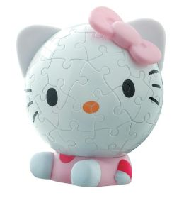 Hello Kitty Big Face 60 Piece Puzzleball