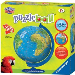 XXL Children's Globe 180 Piece Puzzleball