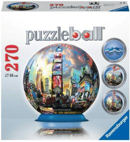Times Square NYC 270 Piece Puzzleball