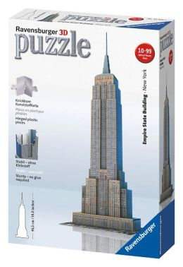 3D Empire State Building 216 Piece Puzzle