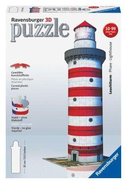 3D Lighthouse 216 Piece Puzzle
