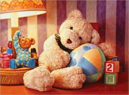 Cuddly Teddy Bear - 200 piece puzzle