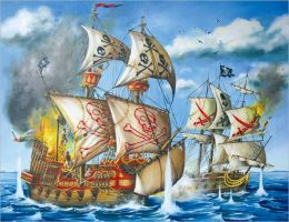 Pirate Ship - 200 piece puzzle