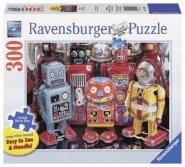 Tin Robots 300 piece large format puzzle