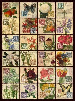 Vintage Flora - 500 piece puzzle