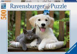 Friendly Opposites 500 Piece Puzzle