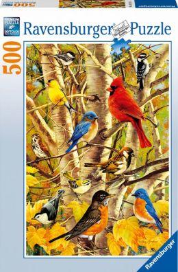Autumn Birds 500 Piece Puzzle