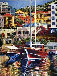 Exotic Harbor 500 Piece puzzle