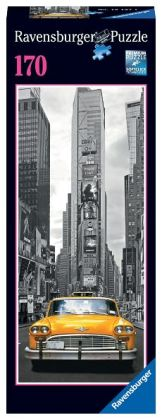 New York Taxi 170 pc Vertical Mini Puzzle