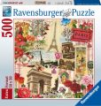 Product Image. Title: Paris in Spring 500 Piece Square puzzle