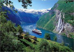 Norwegian Fjord - 1000 piece puzzle