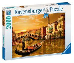 Gondolier in Venice 2000 Piece Puzzle