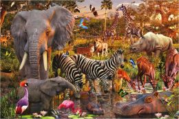 African Animals 3000 pc puzzle