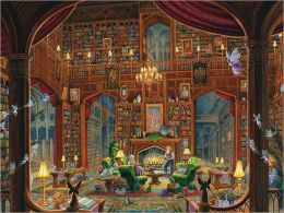 Sanctuary of Knowledge 1000 Piece Puzzle: B&N Exclusive