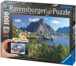Augmented Reality 1000 Piece Puzzle - Loften, Norway