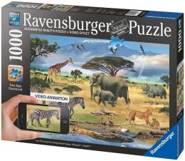 Augmented Reality 1000 Piece Puzzle - Animals of Africa