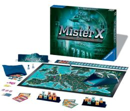 Mister X Game - A Chase Through Europe