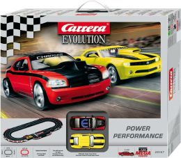 Carrera Evolution Power Performance Racing Slot Car Set