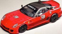 Carrera Evolution Ferrari 599 XX Genava Motorshow Slot Car