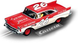 Carrera Digital 1:32 Slot Cars - Chevrolet Belair '57 Coupe Race Ii