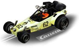 GO!!! Carrera Digital 1:43 Slot Cars - Dune Buggy, Pale Yellow