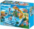 Product Image. Title: Playmobil Pool with Water Slide