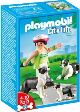 Playmobil Border Collies with Puppies