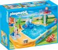 Product Image. Title: Playmobil Children's Pool with Whale Fountain